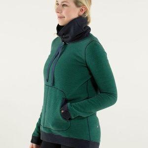 Lululemon Avenue Pullover Sweater Green 6